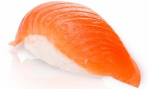 Суши копченный лосось